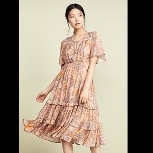 Spell Lady Amethyst Garden party dress
